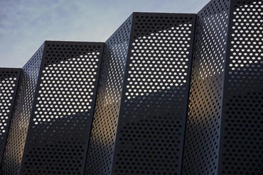 Perforated facades – aesthetics and practicality
