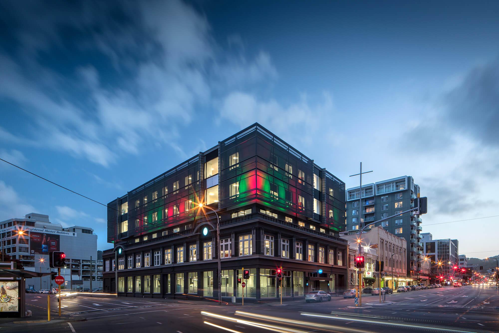 Wellington, Xero building